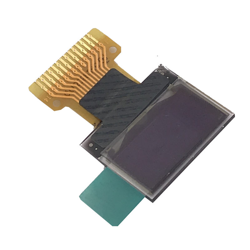 COG Monochrome PMOLED Display 0.49 Inch For Electronic Cigarettes