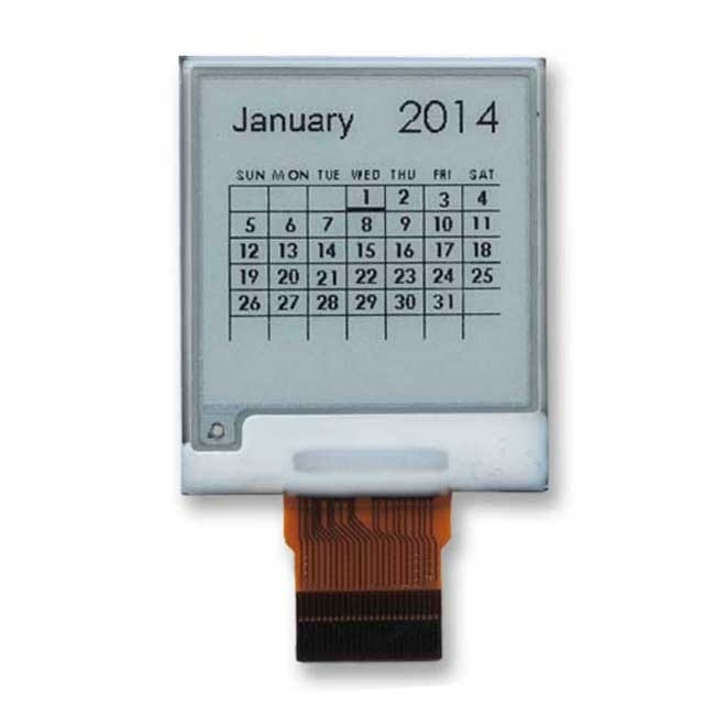200x200 SPI interface E Ink Display 1.54 inch with IC SSD1675