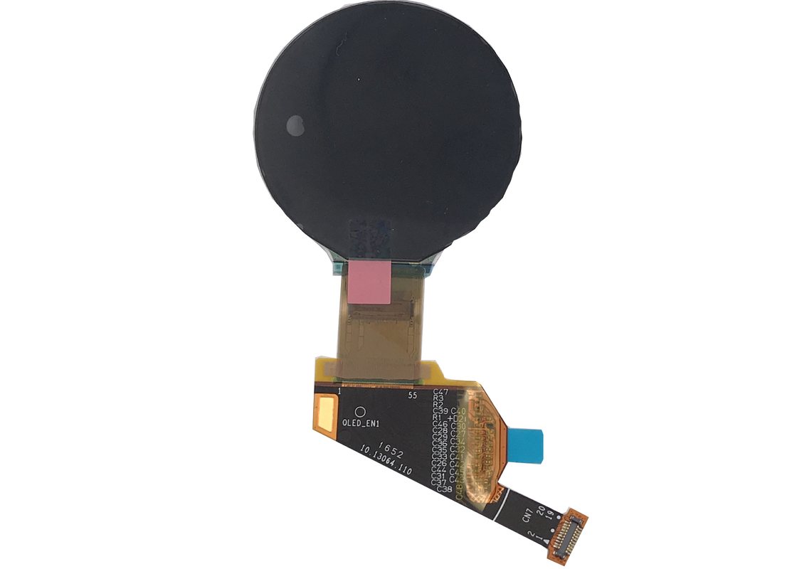 128x128 Dot Circular Oled Display IIC  SSD1327Z In Stock High Resolution For Smart Use