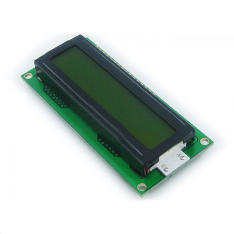 2 Lines Character LCD Module , LCD Character Display Modules 5V For Logic Circuit