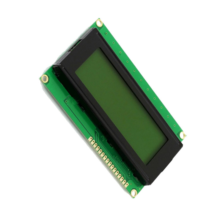 4 Lines 20 Character LCD Module , Positive Transflective LCD Character Display