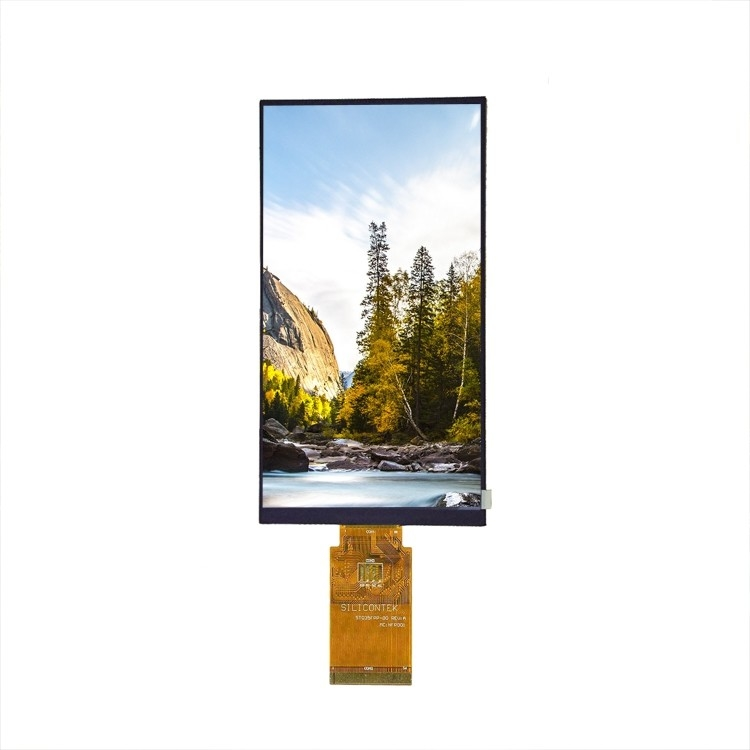 "Medium Size TFT LCD Display Module , 8 "" LCD Display Screen Low Consumption"