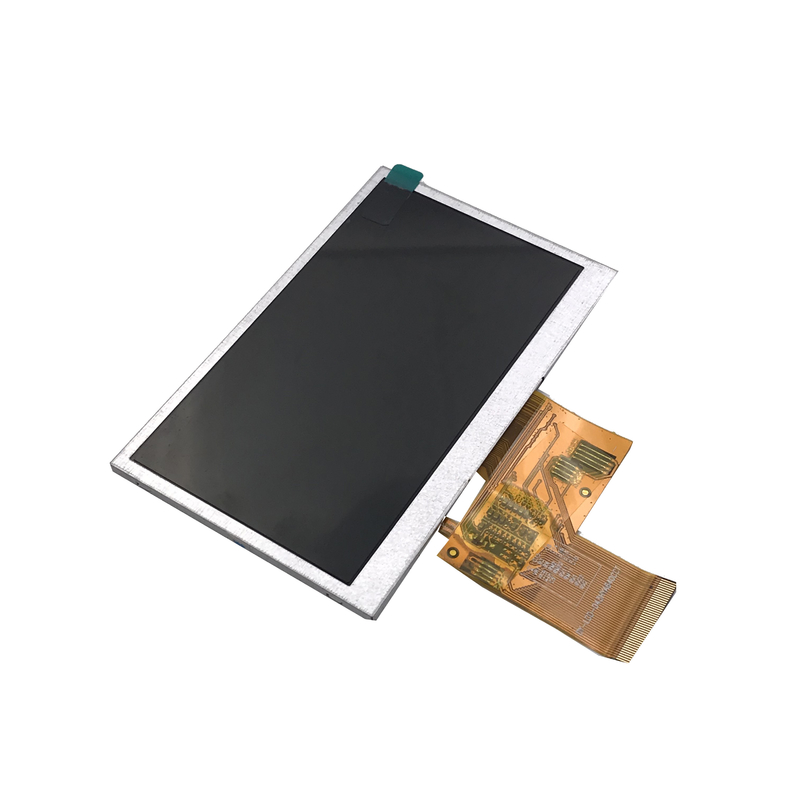 4.3 inch color lcd display with touch panel for many appliance with IC ILI6480BQ