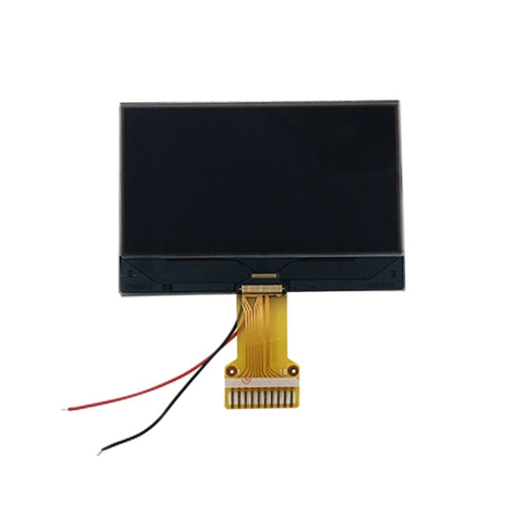Graphic Dot Matrix 12864 Monochrome LCD Display For Communication Panels