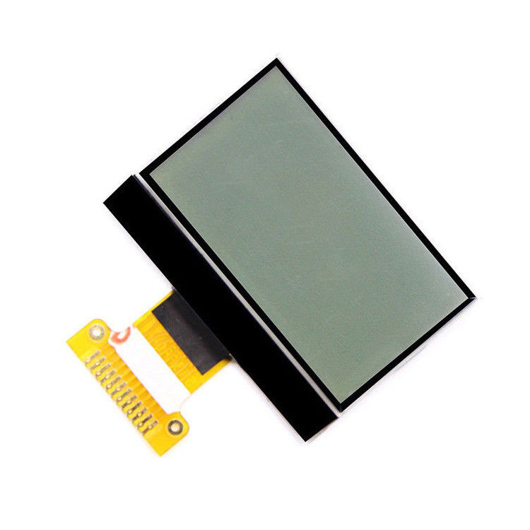 Transmissive Monochrome Lcd Display Module 12864 Dot Matrix FPC Line