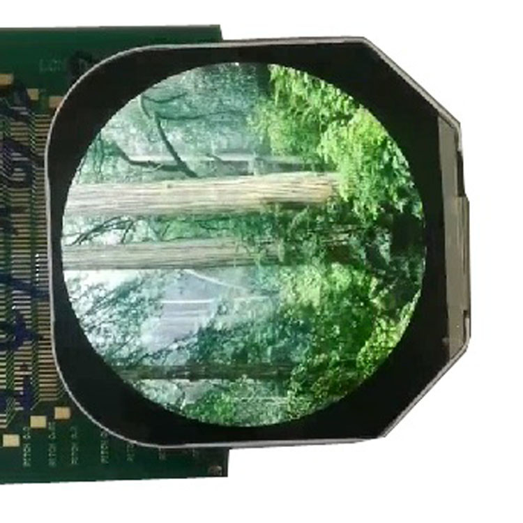 Round 2.4 Inch TFT LCD Display 480*480 Module Full color LCD Screen